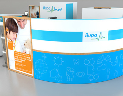 Bupa Insurance - Activation Booth