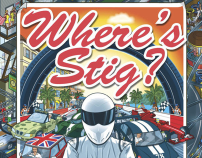 Top Gear Wheres Stig? Motorsport Madness book