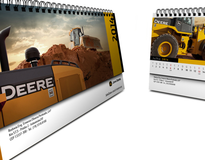 John Deere Construction - 2014 Desk Calendar