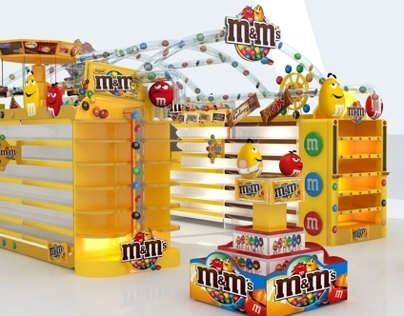 M&Ms Mars Event In Carrefour Festival City