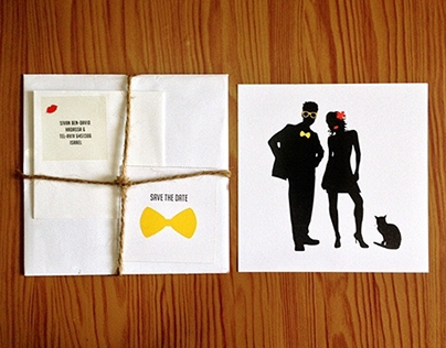Sivan & Tommy's Wedding Invite