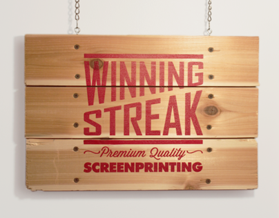 Winning Streak Promotional Sign