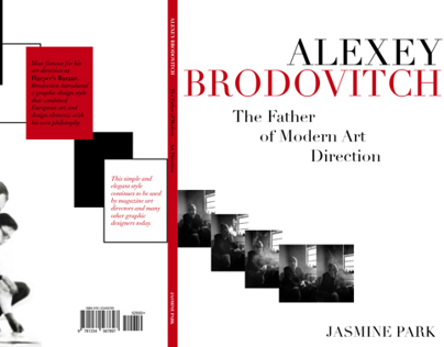 Alexey Brodovitch Book Cover