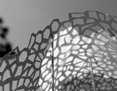 Voronoi Geometry : Space and Textile