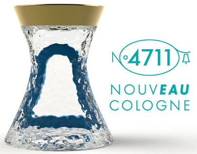 Eau cologne bottle