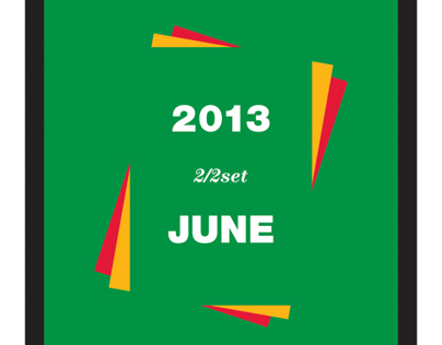 Print design : 2013. summer vacation(renewal.ver)