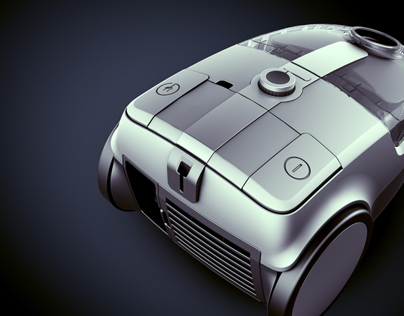 CGI IMagery - Hotpoint Vacuum Cleaner