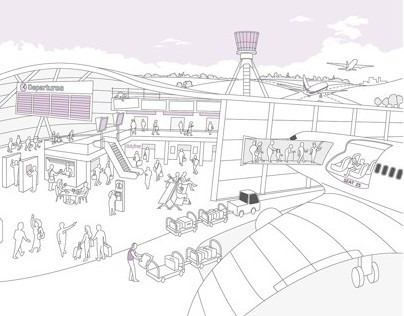 Heathrow Illustration