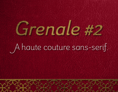 Grenale #2:  defined elegance of the Grenale family.
