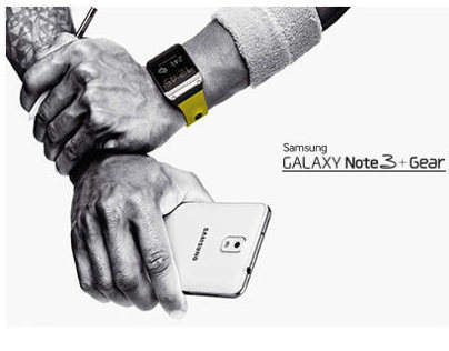 Samsung GALAXY Note 3+Gear