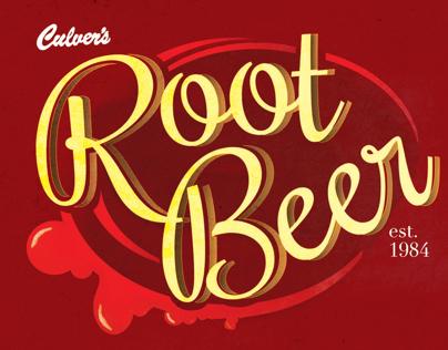 Culvers Root Beer Logo Design