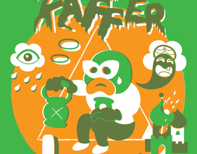 Green Lantern Screenprint
