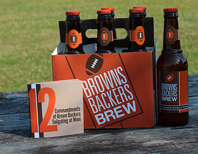 The Cleveland Browns Backers Tailgating Kit