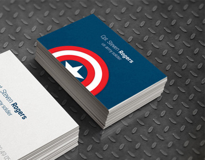 Avenger business card