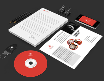 Rough Massive Branding/Stationary Mockup Kit