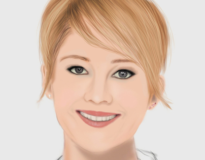 Jennifer Lawrence (Digital Painting)