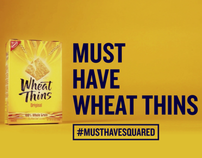 Wheat Thins: #MustHaveSquared