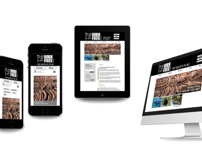 Responsive Website | Born Free USA