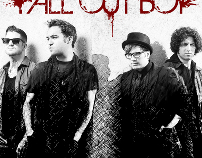 """Fall Out Boy"" album art design"