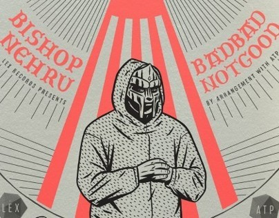 DOOM • BISHOP NEHRU • BADBADNOTGOOD poster