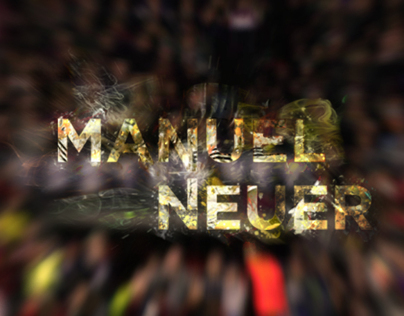 Manuel Neuer Before and After editing