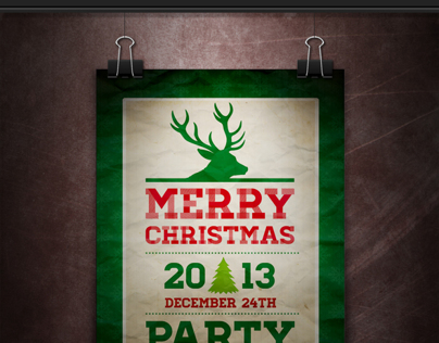 Christmas Poster & Flyers PSD