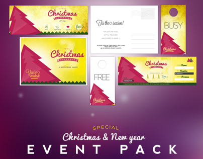 Christmas Event Print Pack