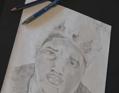 Notorious B.I.G.  //  Drawing