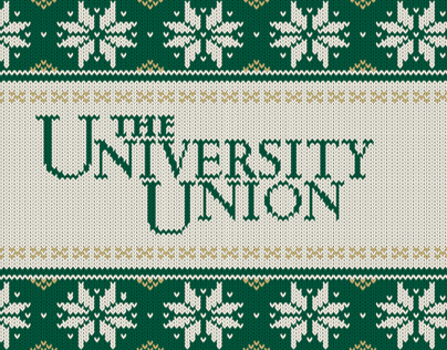 The University Union Holiday Card