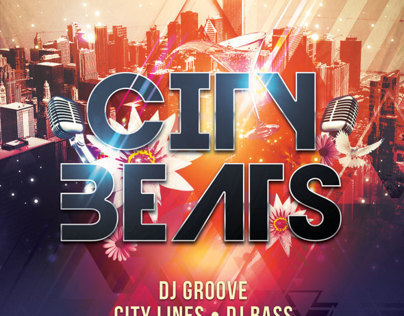 City Beats Flyer Template