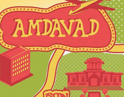 Amdavad- Illustrated