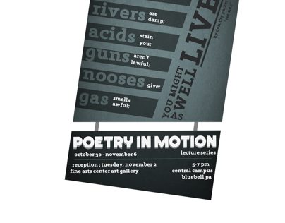 Poetry in Motion Environmental Project