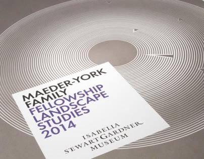 Maeder-York Family Landscape Studies 2014 Poster