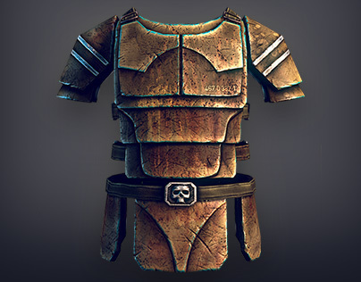 Tactical Vests. In-game low-poly