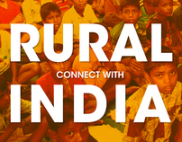 Connect Rural India - Poster