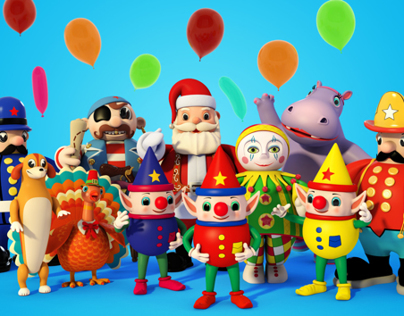 Macy's Thanksgiving Day Parade Characters