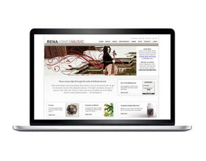 Rena Jones Music - Website