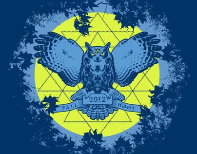 Hootenanny - Fall 2012 Event Shirt