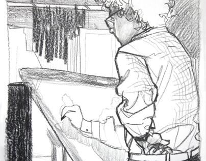 Draw on location - New York 2