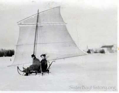 1915 Wisconsin Ice Boat • Door County
