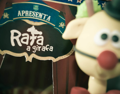 Rafa, a girafa - Toy Art