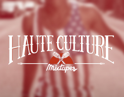 Logotype & Visual identity - Haute Culture