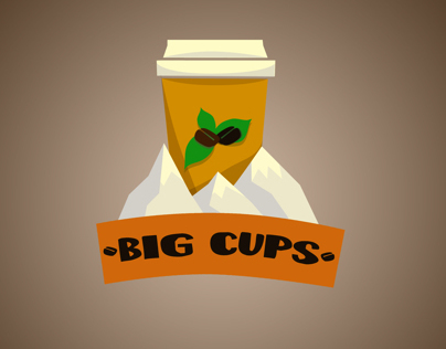Logo BIg Cups