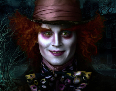 Mad Hatter In Crimson