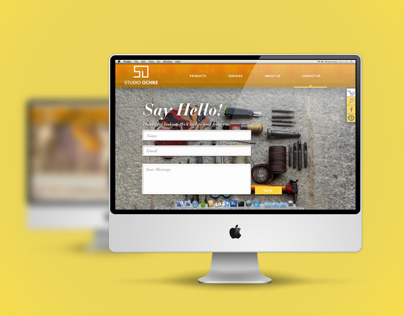Studio Ochre - Website design