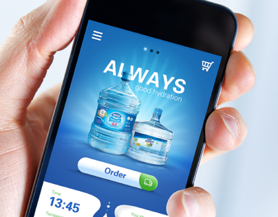 Nestle Waters Concept App