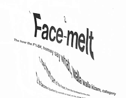 Yes Yes Yall Facemelt Animation