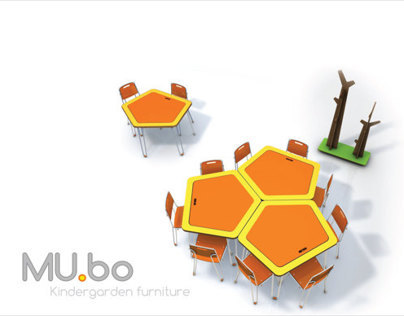 Mu.bo.  Kindergarden Furniture.