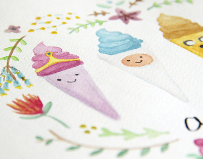ADVENTURE TIME ICE CREAM