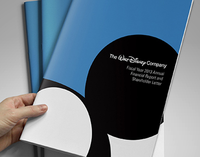 Walt Disney Annual Report Redesign